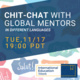 IEW: Chit-chat With Global Mentors (In Different Languages)