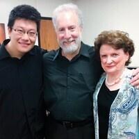 photo of caladium trio members