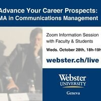 Online Info Session - MA in Communications Management