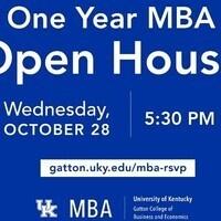University of Kentucky's One Year MBA Virtual Open House