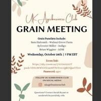 Agribusiness Club Grain Meeting