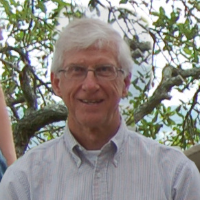Head Shot of Dr. Hedetniemi with tree behind