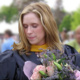 Photo of Kristin Mitchell at her Masters Graduation.