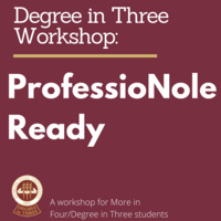 Are you job-ready? A session for Degree in Three/More in Four Students