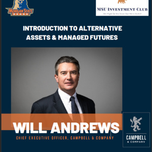 Introduction to Alternative Assets & Managed Futures