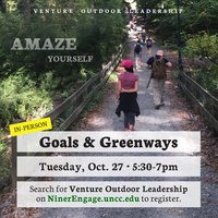 Goals and Greenways