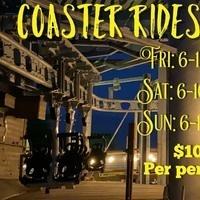 Coaster Rides in the Dark