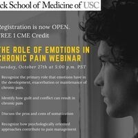 FREE CME Webinar: The Role of Emotions in Chronic Pain