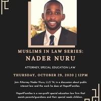 MLSA - MUSLIMS IN LAW SERIES