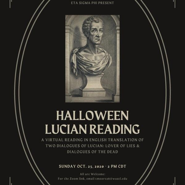 Halloween Lucian Reading