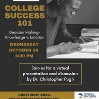 College Success 101: Decision Making-Knowledge v. Emotion