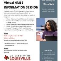 Virtual HMSS Information Session