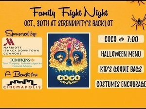 Family Fun Night at Serendipity's Backlot
