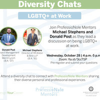 ProfessioNole Mentor Diversity Chat: Being LGBTQ+ At Work