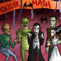 Monster Mask Pop-Up