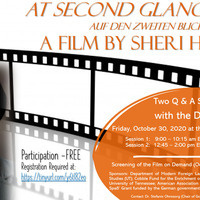 """Two Q & A Sessions with Sheri Hagen, Director of """"At Second Glance"""""""