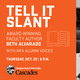 Tell it Slant - Event Banner