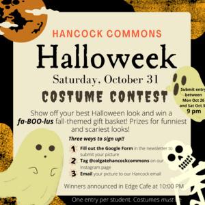 Hancock Halloweek: Costume Contest
