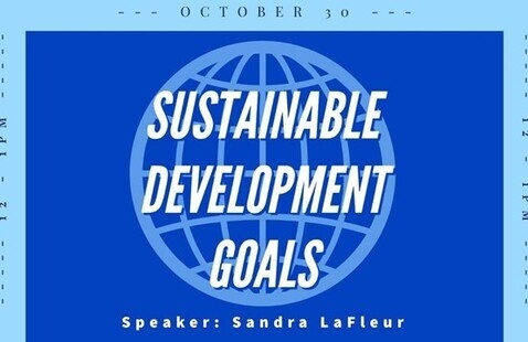 Sustainable Development Goals Info Session