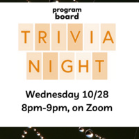 Program Board Presents: Trivia Night