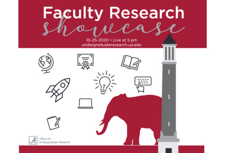 Faculty Research Showcase -available undergraduateresearch.ua.edu