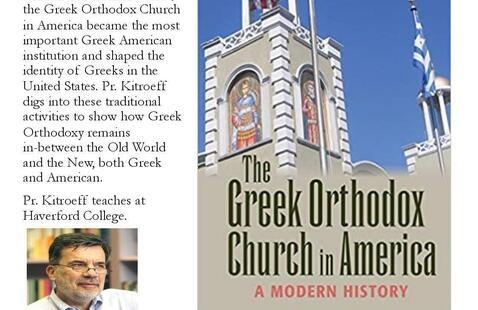 Pr Kitroeff and his book The Greek Orthodox Church in America