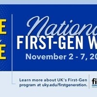 First-Generation Student Week