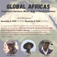 Global Africas: Congolese Literature, Music, and Art in the 21st Century (Day 2)