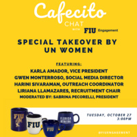 Cafecito Chat with UN Women at FIU