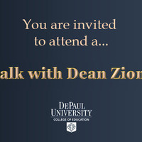 A Talk with Dean Paul Zionts (College of Education)