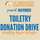 Toiletry Donation Drive