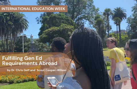 Fulfilling G.E. Requirements Abroad
