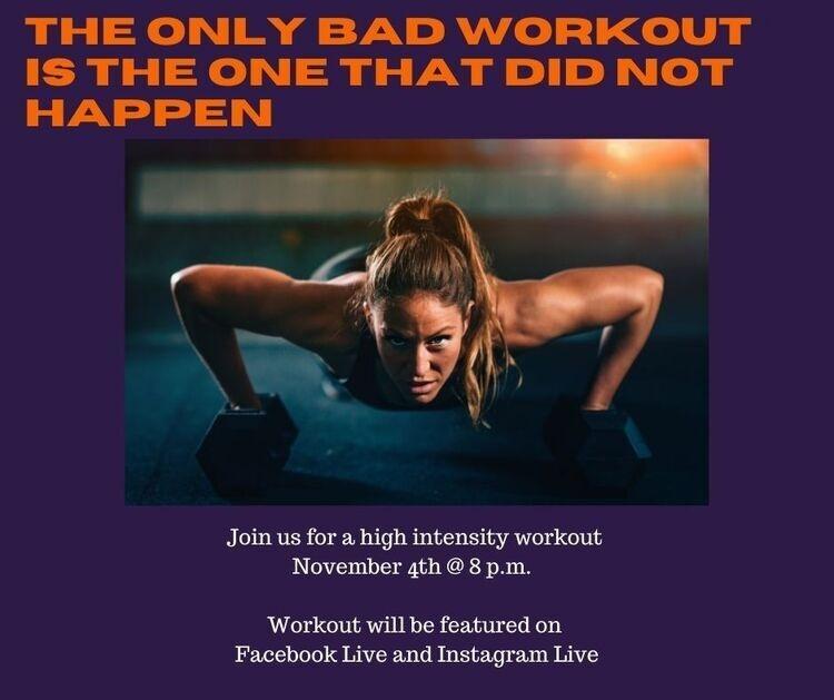 Virtual HIIT Workout