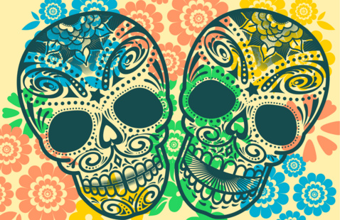 Celebrate Día de los Muertos with the Spanish Club, October 28 6:30 - 7:30 in the Student Center Leadership Room