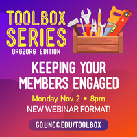 Toolbox Series Webinar - Keeping Your Members Engaged with SKY UNCC