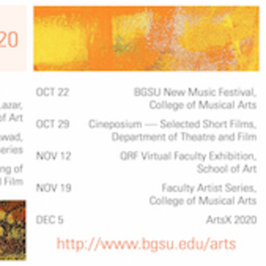 Virtual Arts Series: Highlights from Faculty Artist Series