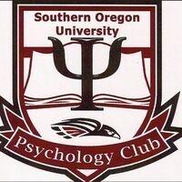 Southern Oregon University Psychology Club Logo / Greek Psi symbol, SOU Raider hawk