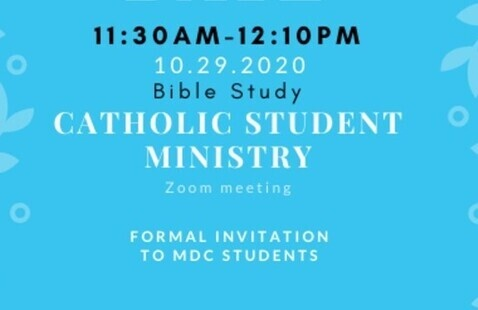 Thursday Bible Study from 11:30 to 12:10