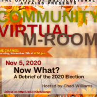 Virtual M-Room: Now What? | Multicultural Affairs