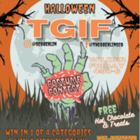 Halloween TGIF with Costume Contest, DJ by WOBC, Featuring Live Music