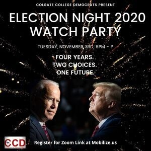 Election Night 2020 Watch Party