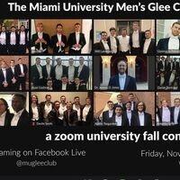 Men's Glee Club: a zoom university fall concert