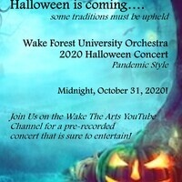 The Wake Forest Orchestra Halloween Concert
