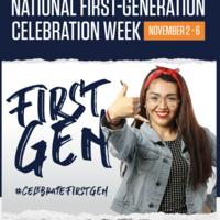 National First-Gen Celebration Week: Nov 2 – 6