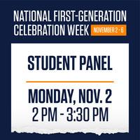 National First-Gen Celebration: Student Panel