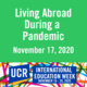 Living Abroad During a Pandemic - Panel Discussion on November 17, 2020