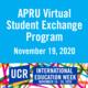 APRU Virtual Student Exchange Program on November 19, 2020