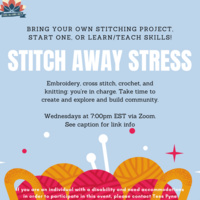 Stitch Away Stress | Center for Gender Equity