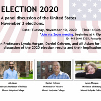 Panel Discussion of 2020 Elections