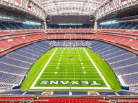 Empty Houston Texans NRG Stadium